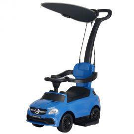 Masinuta de impins cu maner si copertina Chipolino Mercedes AMG GLE 63 blue, Culoare: Albastru
