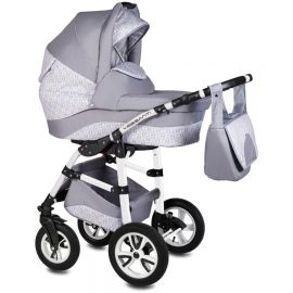 Carucior Flamingo Easy Drive 3 in 1 - Vessanti - Light Gray - Vessanti