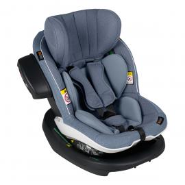 Scaun auto iZi Modular X1 i-Size - Cloud  Mélange - BeSafe, Culoare: Albastru, Grupa: 0-18kg (0 luni - 4 ani), poza