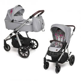 Baby Design Bueno carucior multifunctional 2 in 1 - 107 Gray Peony 2020 - Baby Design