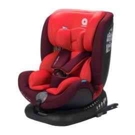 Apramo - Scaun auto rotativ Unique Ruby Red, 0 - 36 kg, Culoare: Rosu, Grupa: 0-36kg (0 luni - 12 ani)