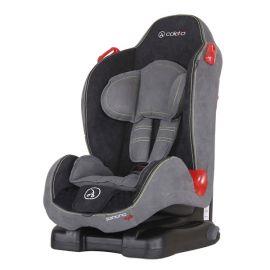 Scaun auto Santino Isofix Grey Coletto, Culoare: Gri/Negru, Grupa: 9-25kg (9 luni - 5 ani)