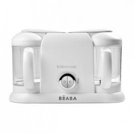 Robot Babycook Plus White Silver Beaba, Culoare: Alb