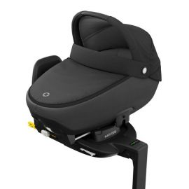 Pachet landou Maxi Cosi i-size Jade + baza auto Familyfix3 Essential Black, Culoare: Negru