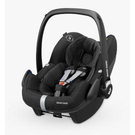 Pachet Cos auto Maxi Cosi Pebble Pro i-size si baza auto Familyfix3 Essential Black, Culoare: Negru, Grupa: 0-13kg (0 luni - 12 luni)