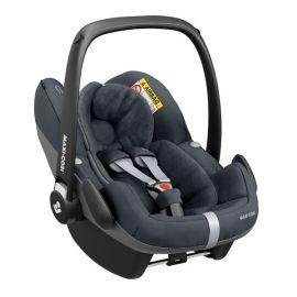 Pachet Cos auto Maxi Cosi Pebble Pro i-size si baza auto Familyfix3 Essential Graphite, Culoare: Gri, Grupa: 0-13kg (0 luni - 12 luni)
