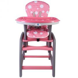 Scaun de masa multifunctional roz Kidscare, Culoare: Roz, poza