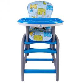 Scaun de masa multifunctional albastru Kidscare, Culoare: Albastru, poza