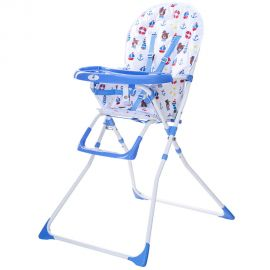 Scaun de masa Bimba Kidscare, Albastru, Culoare: Albastru, poza