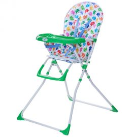 Scaun de masa Bimba Kidscare, Verde, Culoare: Verde, poza