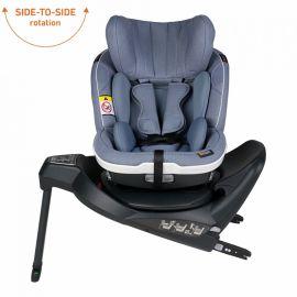 Scaun auto iZi Twist i-Size - Cloud  Mélange - BeSafe, Culoare: Albastru, Grupa: 0-18kg (0 luni - 4 ani), poza