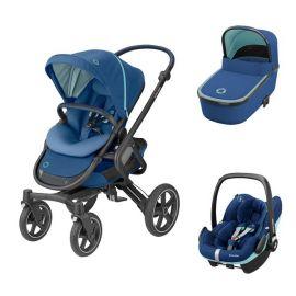 Carucior 3in1 Nova 4 Maxi-Cosi Essential Blue, Culoare: Blue