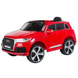 Masinuta electrica Chipolino SUV Audi Q7 Red cu roti EVA, Culoare: Rosu, poza