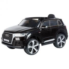 Masinuta electrica Chipolino SUV Audi Q7 Black cu roti EVA, Culoare: Negru, poza