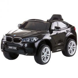 Masinuta electrica Chipolino BMW X6 Black cu roti EVA, Culoare: Negru, poza
