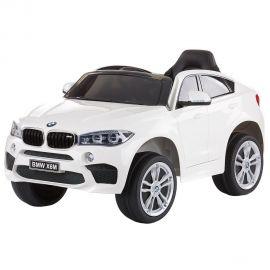 Masinuta electrica Chipolino BMW X6 White cu roti EVA, Culoare: Alb, poza