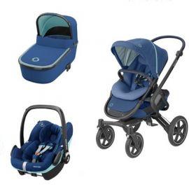 Carucior Nova Maxi Cosi 3in1 Essential Blue, Culoare: Blue