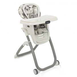 Scaun de masa Graco Duodiner DLX 6 in 1 Patchwork Grey, poza