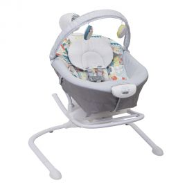 Balansoar 2 in 1 Graco Duet Sway Patchwork, poza