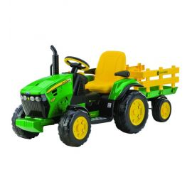 Tractor JD Ground Force w/trailer - Peg Perego
