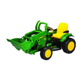Tractor cu Excavator JD Ground Loader - Peg Perego