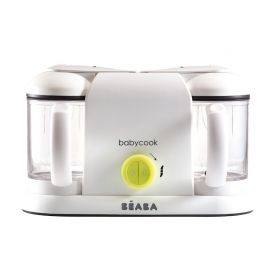 Robot Babycook Plus Neon - Beaba, Culoare: Verde