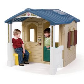 Casuta cu pridvor - Naturally Playful Front Porch Playhouse - Step2