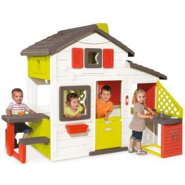 Casuta pentru copii Smoby Friends Playhouse cu bucatarie, poza