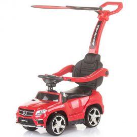 Masinuta de impins cu copertina Chipolino Mercedes Benz GL63 AMG red, Culoare: Rosu