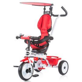 Tricicleta Chipolino Primus red, Culoare: Rosu