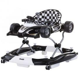 Premergator Chipolino Racer 4 in 1 black white, Culoare: Alb/Negru