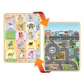 Covoras de Joaca cu Doua Fete pentru Copii Prince Lionheart City / ABC