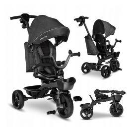 Lionelo - Tricicleta multifunctionala cu sezut reversibil, Kori, Grey Stone, Culoare: Gri