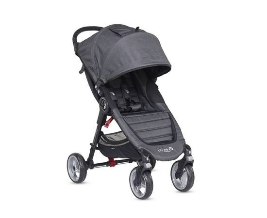 Carucior City Mini 4 Charcoal Denim - Baby Jogger, poza