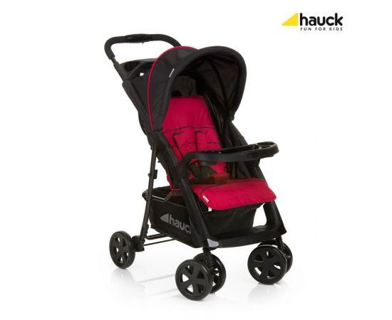 Carucior Shopper Comfortfold Black/Red - Hauck