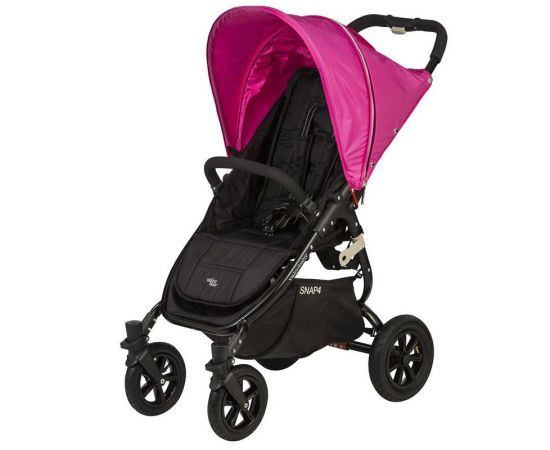 Carucior sport cu roti gonflabile SNAP 4 Hot Pink - Valco Baby, poza