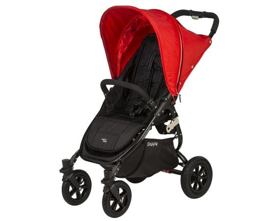 Carucior sport cu roti gonflabile SNAP 4 Red - Valco Baby