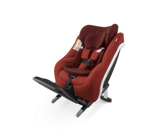 Scaun auto Isofix Concord Reverso Plus Autumn Red, Culoare: Rosu, Grupa: 0-18kg (0 luni - 4 ani)