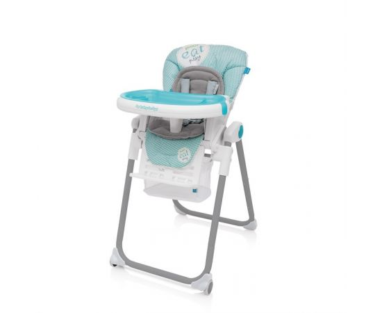 Scaun de masa Lolly 05 Turquoise 2017 - Baby Design, poza
