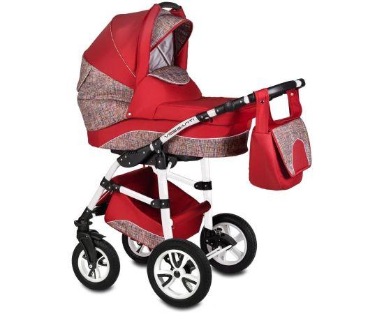 Carucior 3 in 1 Flamingo Easy Drive Red Vessanti, Culoare: Rosu
