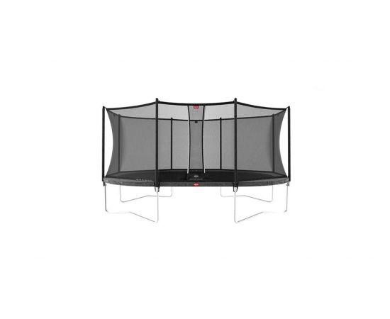 Trambulina Berg Grand Favorit Regular 520x345  Gri  cu Plasa Comfort