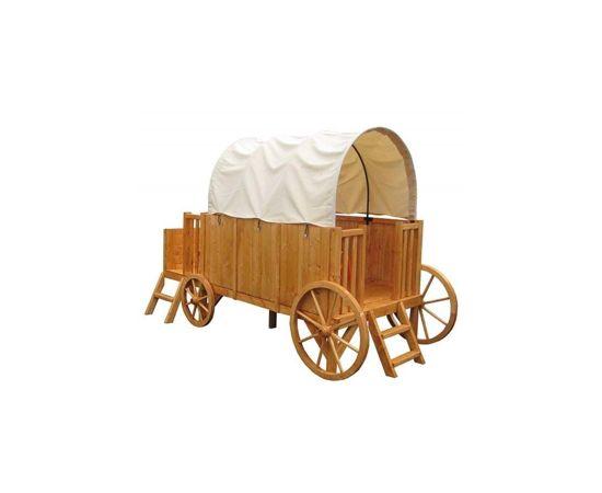 Trasura-Casuta din lemn JESSY - EGT-Soulet,poza 2