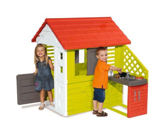 Casuta cu bucatarie pentru copii Smoby Nature,poza 2