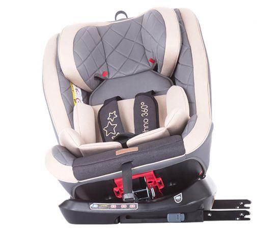 Scaun auto Isofix Chipolino Techno 0-36 kg mocca, Culoare: Crem, Grupa: 0-36kg (0 luni - 12 ani),poza 7