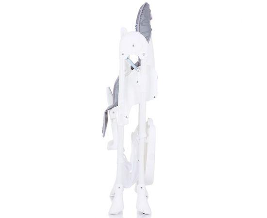 Scaun de masa Chipolino Bandi Grey, Culoare: Gri,poza 6