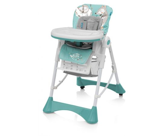 Scaun de masa Pepe 05 Turquoise 2018 - Baby Design
