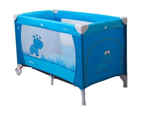 Patut pliabil Samba - Coto Baby - Albastru - Coto Baby