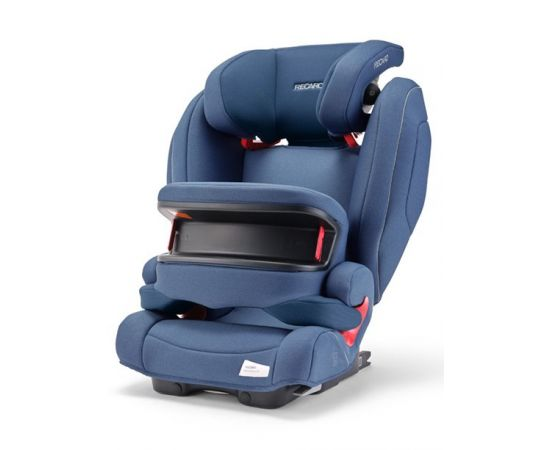 Scaun Auto Copii cu Isofix Monza Nova IS Prime Sky Blue Recaro, poza 1