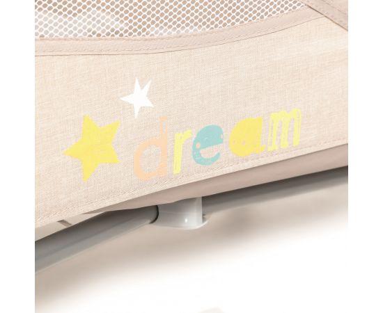 Patut Pliabil cu 2 nivele Baby Design Dream 09 Beige 2020, Culoare: Crem,poza 4