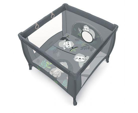 Tarc de joaca pliabil Baby Design Play UP 17 Graphite 2020, Culoare: Gri